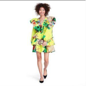 Christoper John Rogers x Target FloralRuffle Dress